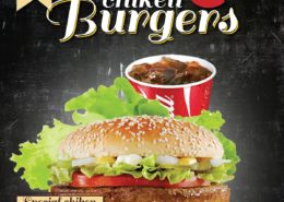 Burger Flyer Design